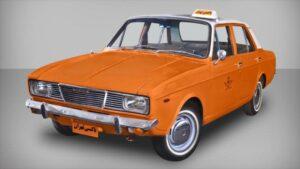 تاکسی نارنجی نوستالژی