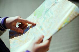 نوستالژی نقشه کاغذی